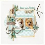 My Pomeranians Bow and Arrow