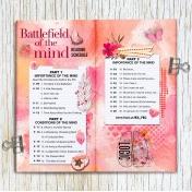 Book Reading Schedule in a Travelers Notebook