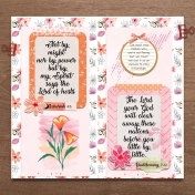 Bible Journaling In A Travelers Notebook BTOM Chapter 2, 3, 4