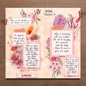 Bible Journaling In A Travelers Notebook BTOM Chapter 5