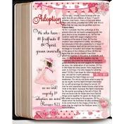 Bible Journaling Romans 8:23 Adoption