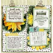 Bible Journaling Travelers Notebook In His Image