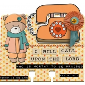 Bible Journaling Faith Dex Card