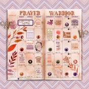 November Calendar with Prayer Warrior Verses