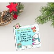 Holiday Magic Blog Train Freebie Memory Dex Card