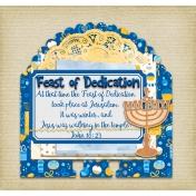 Hanukkah Dex Card: John 10:23