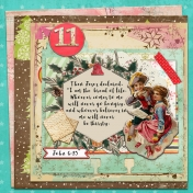 December Daily Faith Dex Card Titles Of Christ: Bread of Life