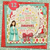 December Daily Faith Dex Card Titles Of Christ: Immanuel