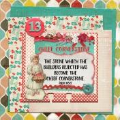 December Daily Faith Dex Card Titles Of Christ: Cornerstone