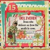 December Daily Faith Dex Card Titles Of Christ: Deliverer