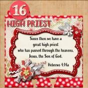 December Daily Faith Dex Card Titles Of Christ: High Priest