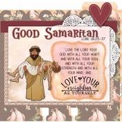 Parables Jesus Told Memory Dex Card Good Samaritan