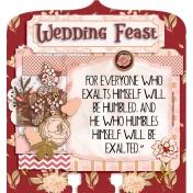 Parables Jesus Told Memory Dex Card Wedding Feast