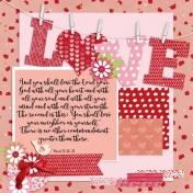 Shema: Love Bible Journal Page