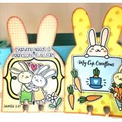 Bunny Memory Dex Cards Bible Journaling 2