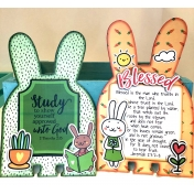 Bunny Memory Dex Cards Bible Journaling 4