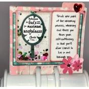 Memory Dex Card Life Principles Day 15 Shaker Card