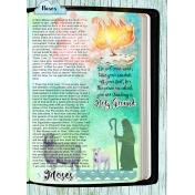 Bible Journaling Through the Exodus Era: Call of Moses