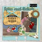 Joshua Bible Study Memory Dex Card: Rahab