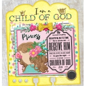 I am a Child of God Bible Dex Card