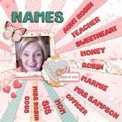 So Many Names