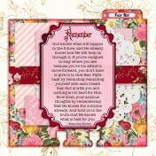 Redeeming Love Memory Dex Cards Day 6 back