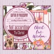 Memory Dex Card: Discernment: Christ Our Wisdom