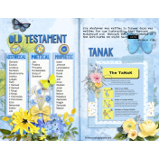 Old Testament Structure Treasure Journal Page