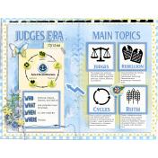 12 Bible Era: Judges Era Treasure Journal Page
