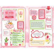 The Truth Will Set You Free (Bible Journaling & Verse Mapping)