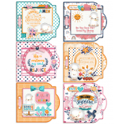 Bible journal Mini Album With Memory Dex Cards (6 pages)
