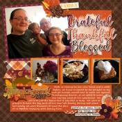 Grateful Thankful Blessed