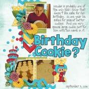 Birthday Cookie?
