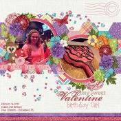 Valentine Birthday Girl