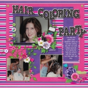 Hair Coloring Party