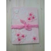Pink Floral Junk Journal