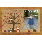 Autumn Photo Card 4x6 (#3)