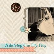 Admiring the Flip Flop