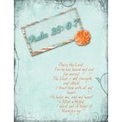 Psalm 28-6-7