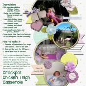 Crockpot Chicken Thigh Casserole