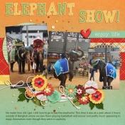 Bangkok Elephant Show