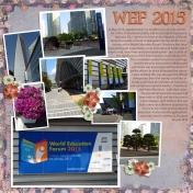 WEF 2015 Venue