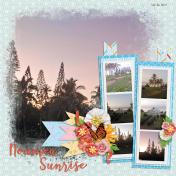 Noumea Sunrise