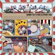 Disney Dumbo Ride