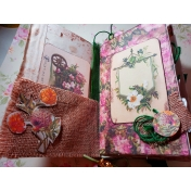 Seriously Floral Junk Journal (inside cover)