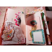 Seriously Floral Junk Journal page 1
