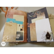 Autumn Bramble hybrid Junk Journal Planner #2