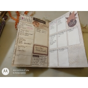 Autumn Bramble hybrid Junk Journal Planner #3