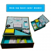 Desktop Easel card and drawer