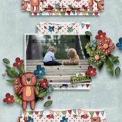 Bearly Spring- Teddy Bear